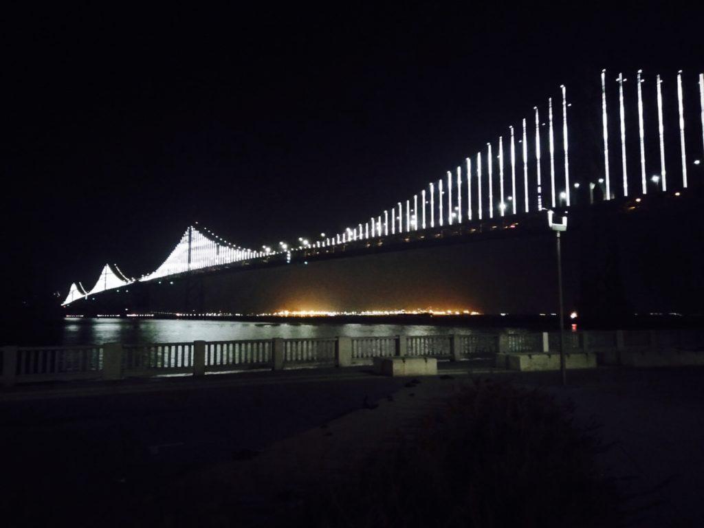 Bay bridge, Oakland to San Fransisco