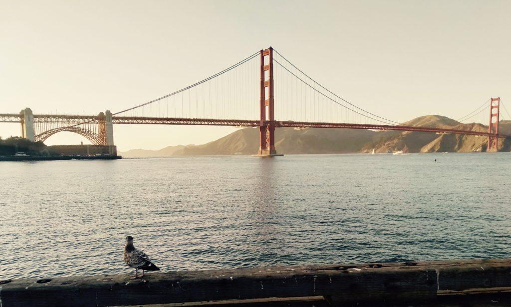 San Fransisco's Golden Gate Bridge