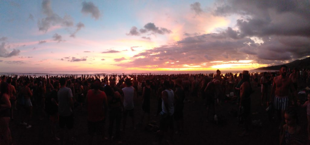 Sunset at Envision 2020
